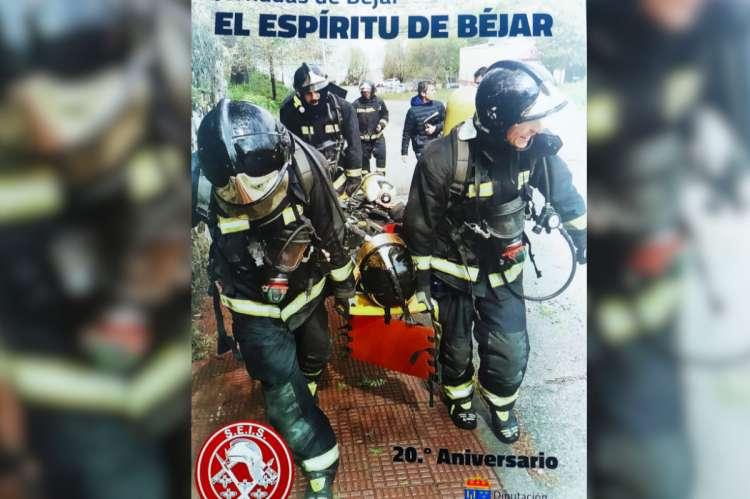 Portada del libro presentado en la Diputación, EL Espíritu de Béjar