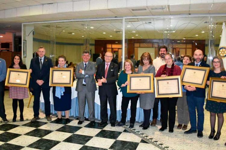 Entrega del Premio Servir 2018 del Rotary Club