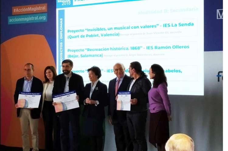 Entrega de premios Acción Magistral