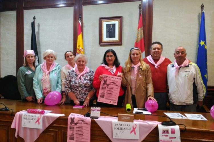Presentación de actividades para recaudar fondos para la lucha contra el Cáncer de Mama