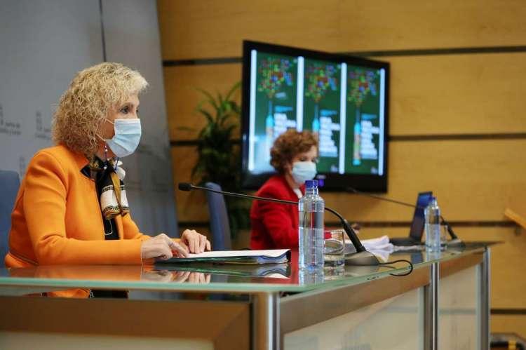 La consejera de Sanidad presenta la campaña de vacunación
