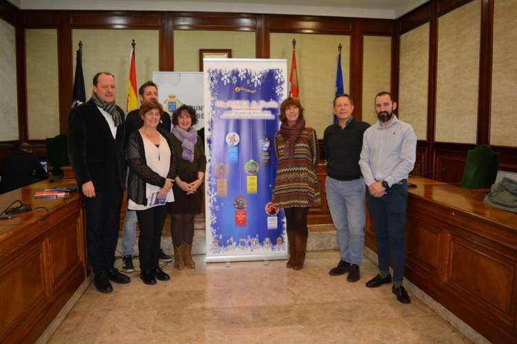 Alcaldes durante la presentación de CoMARCA de Ilusión