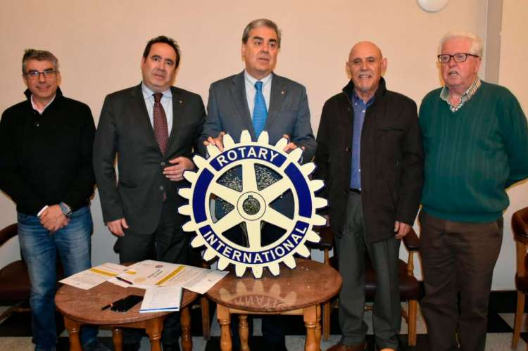 Miembros del Rotary Club de Béjar