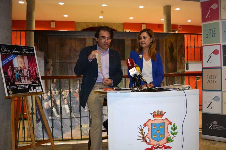 Presentación actividades de El Tenorio en el Cervantes