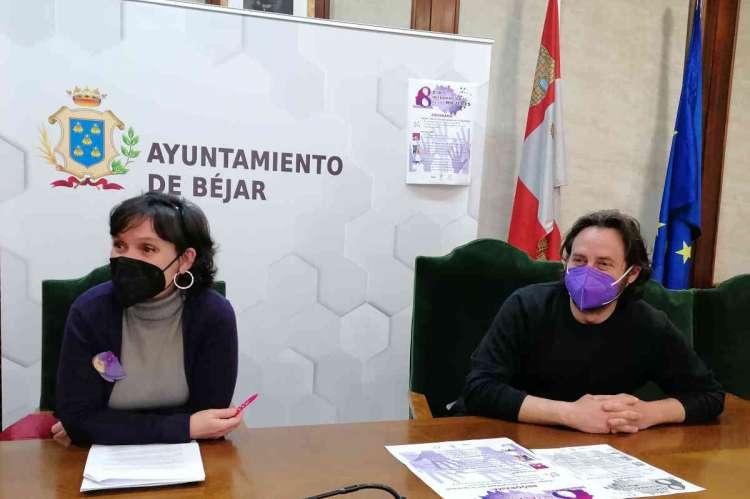 Presentación de las actividades del Día Internacional de la Mujer en Béjar