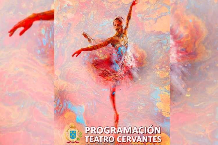 Cartel abstracto bailarina