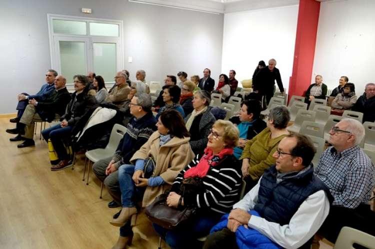 Publico asistente a la presentación de la Biografía de Pedro Dorado Montero