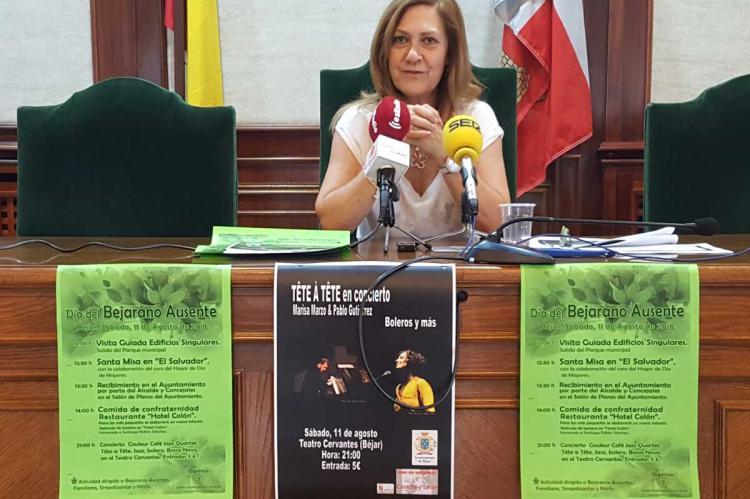 Purificación Pozo presenta el día del Bejarano Ausente