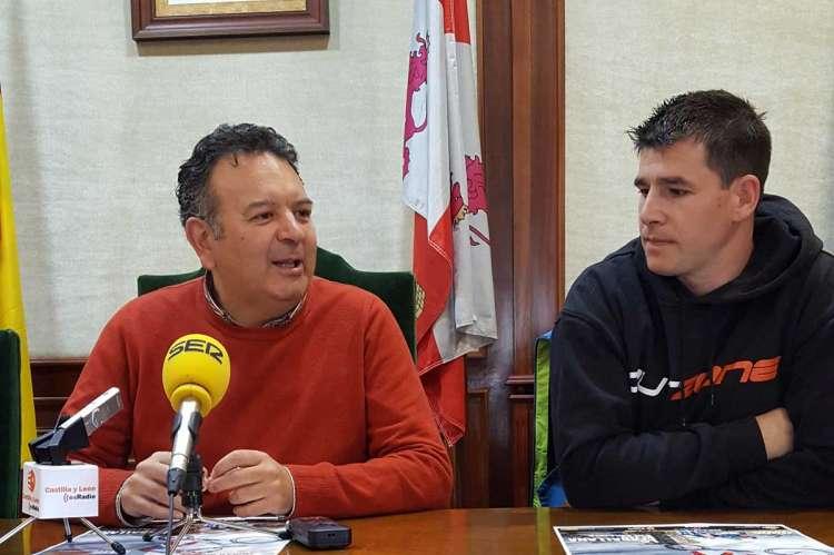 Raúl Hernández e Iván Izquierdo durante la presentación