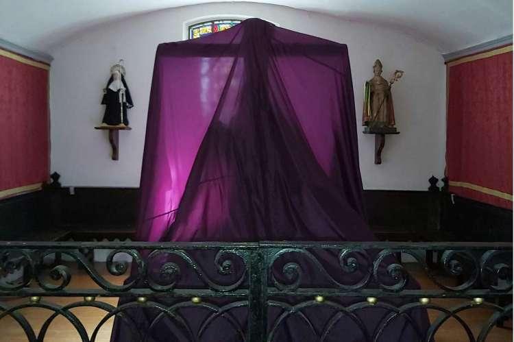 Talla tapada de María Auxiliadora