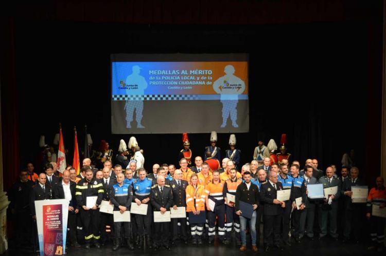 Entrega de reconocimientos Policía Local y Protección Ciudadana
