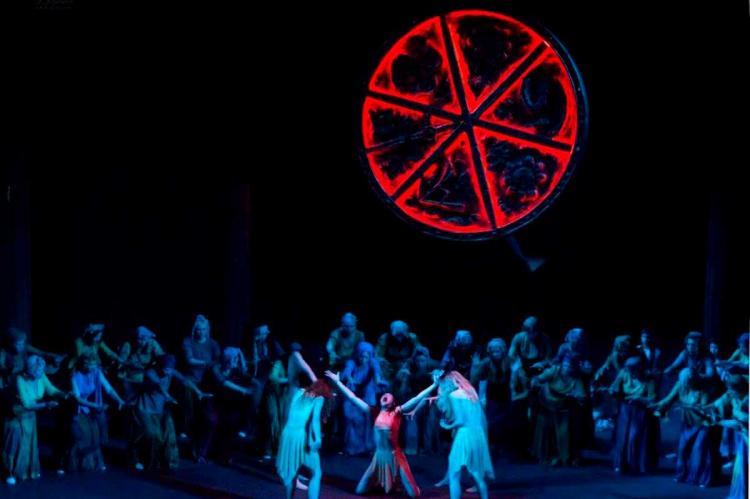 Representación de la ópera Macbeth