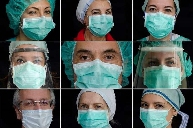 Retratos del personal del centro de slud de Béjar publicados en National Geographic