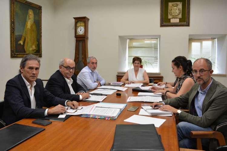 Reunión de miembros del Programa Jarcultur en el Ayuntamiento de Béjar