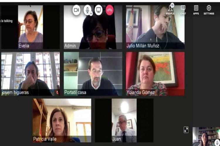 Reunión telemática Red de Juderías