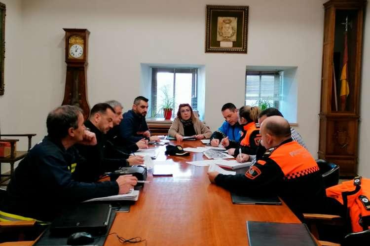 Reunión equipo del dispositivo de seguridad del Carnaval