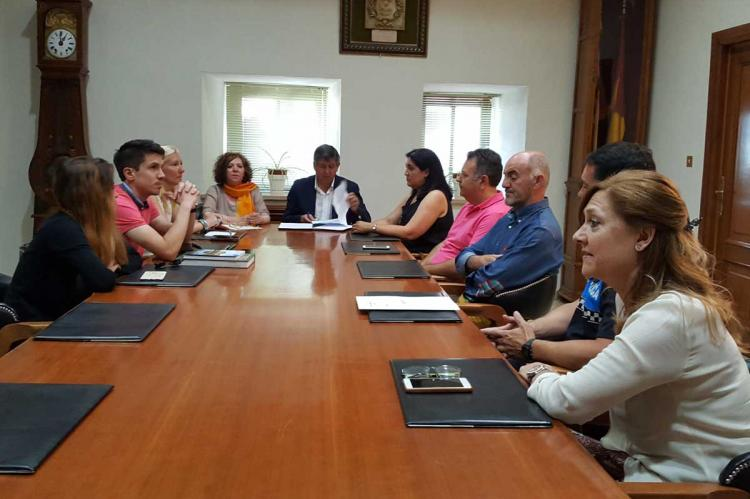 Reunión con la subdelegada del gobierno