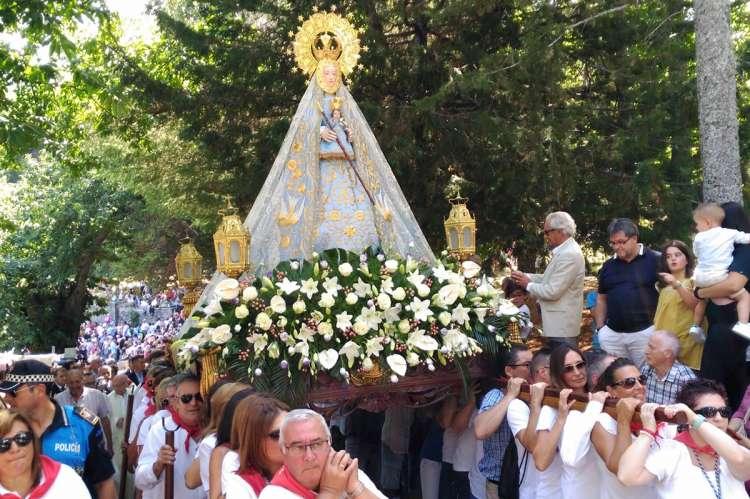 Romería de la Virgen del Castañar