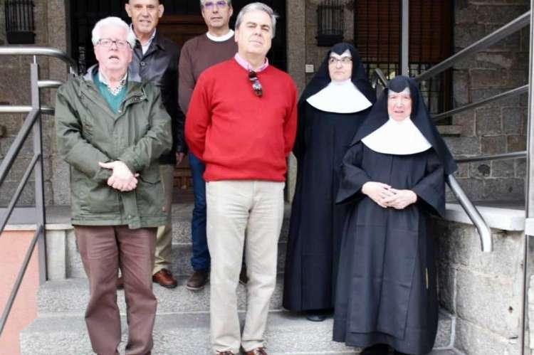 Miembros del Rotary Club y de la Residencia San José de Béjar
