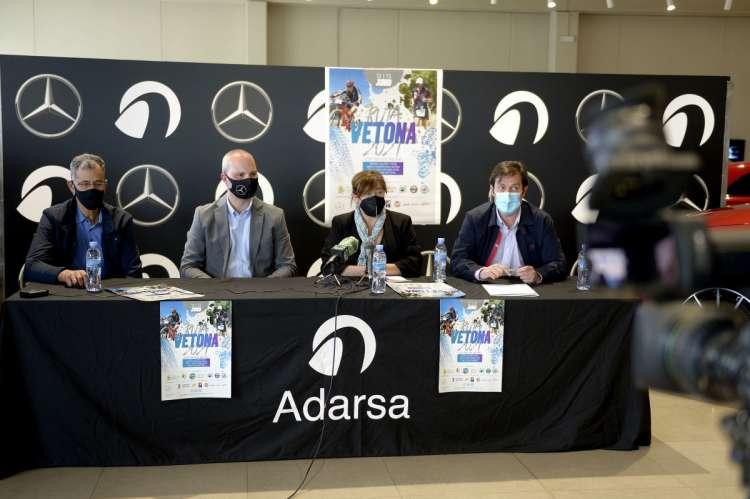 Rueda de prensa de la Ruta Vetona Mercedes-Benz Adarsa