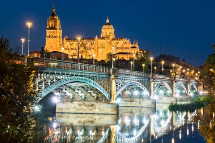 Panoramica de Salamanca Nocturna