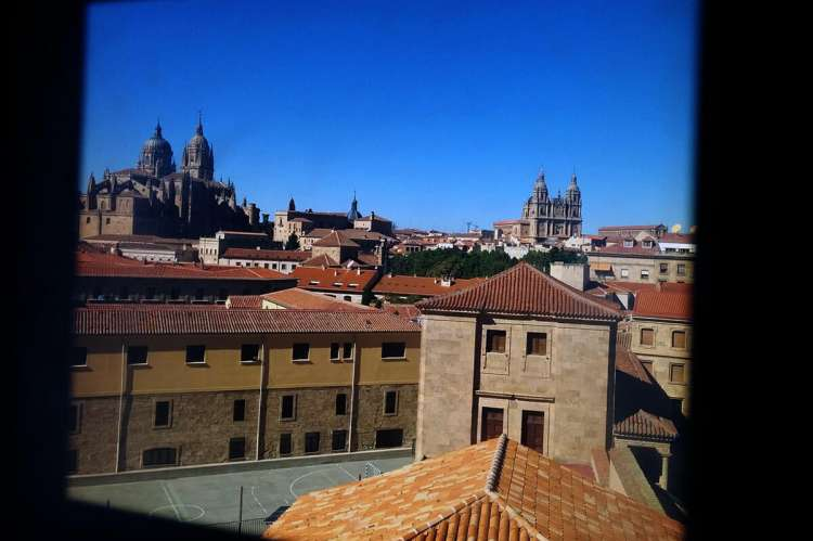 Vista parcial de Salamanca