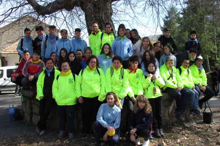 Grupo de alumnos del  María Auxiliadora