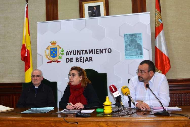 Félix Pérez Ana V. Peralejo, y  el concejal de Medio Ambiente, José Ángel Hernán