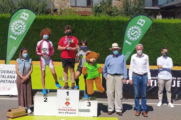 Sergio, 1º  Alpino en Linea club La Covatilla