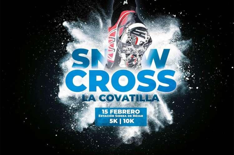 Cartel promocional I SnowCross La Covatilla
