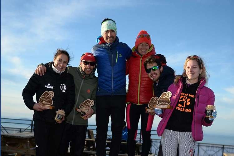 Podium Snowcross de La Covatilla