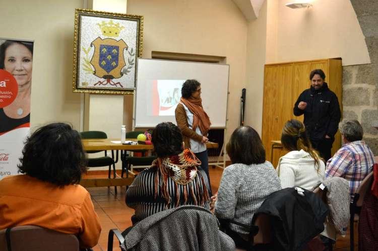 Comienzo del taller Gira Mujeres