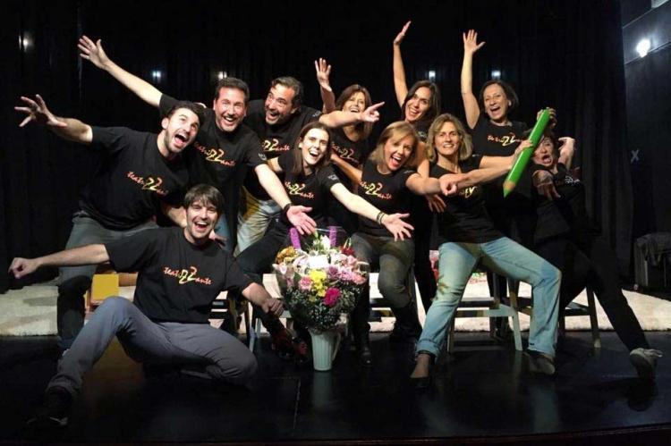 Foto de grupo de la compañía Teatrizzante