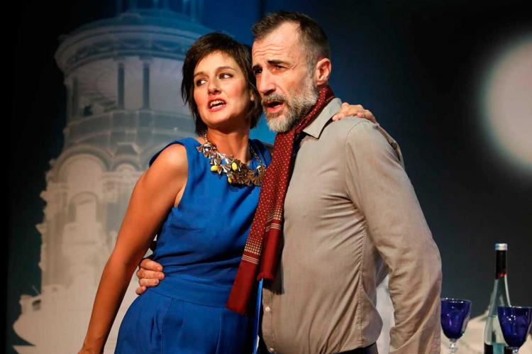 Patricia Estremera y Alfonso Mendiguchía