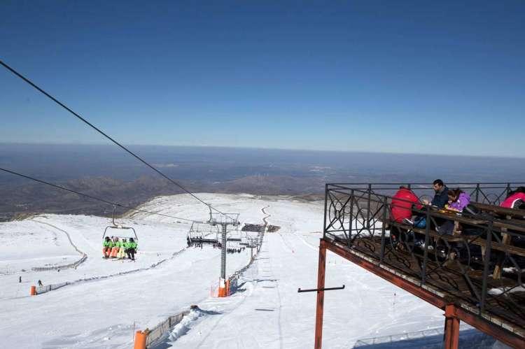 Imagen de archivo de la estación de esquí La Covatilla