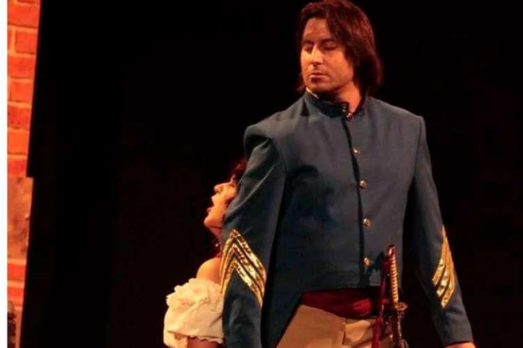 Nester Martorell en una de sus actuaciones