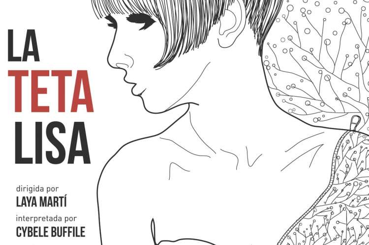 Vista parcial del cartel de La Teta Lisa