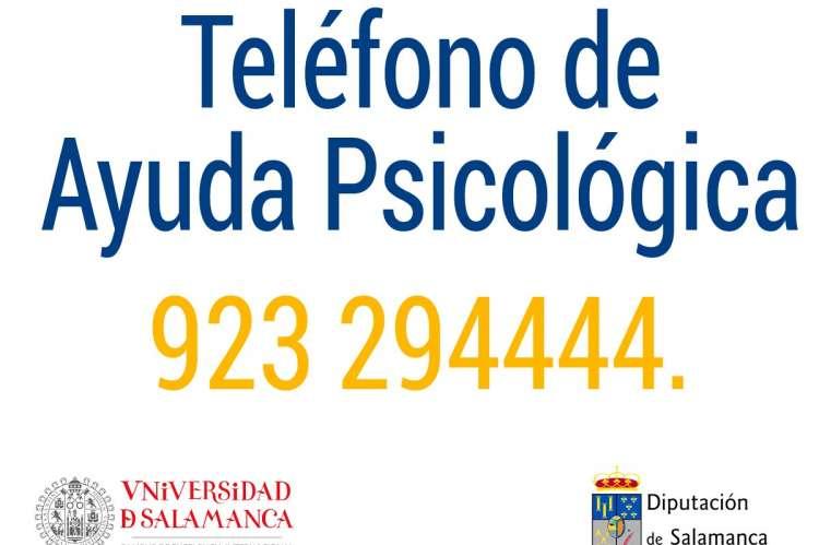 Telefono de ayuda psicologica Salamanca