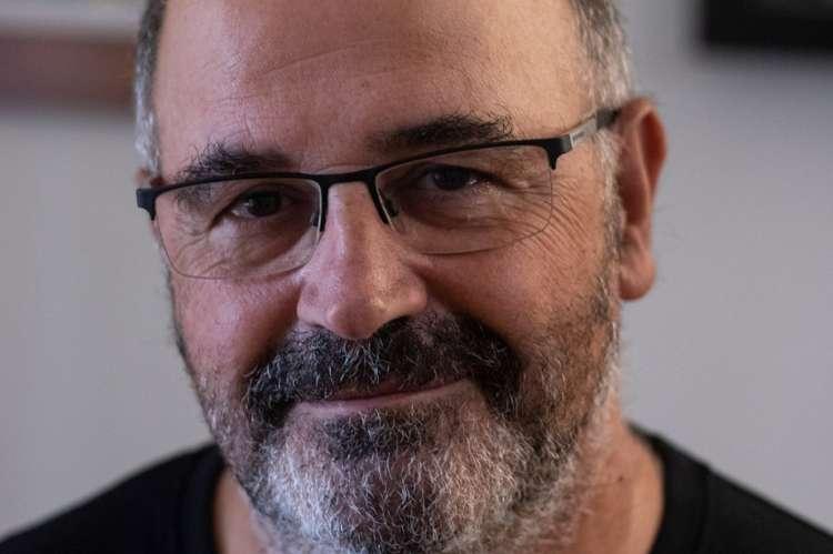 Tomás García Merino, autor del libro