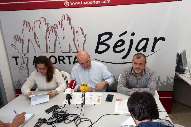 Miembros de la formación independiente durante la campaña