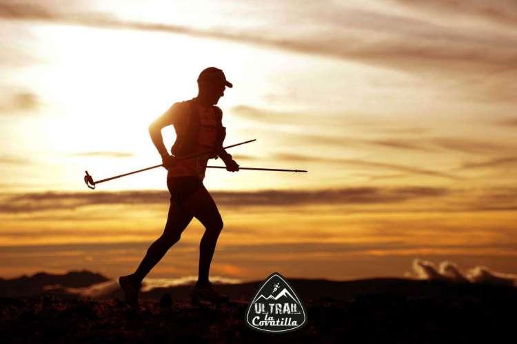 Un corredor durante la disputa de la prueba. Imagen Web Oficial Ultrail La Covatilla
