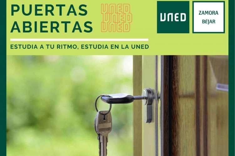 Cartel anunciador de la Jornada de Puertas Abiertas