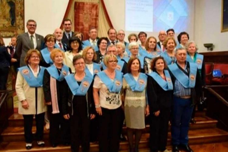 Participantes en el programa en el Casino Obrero