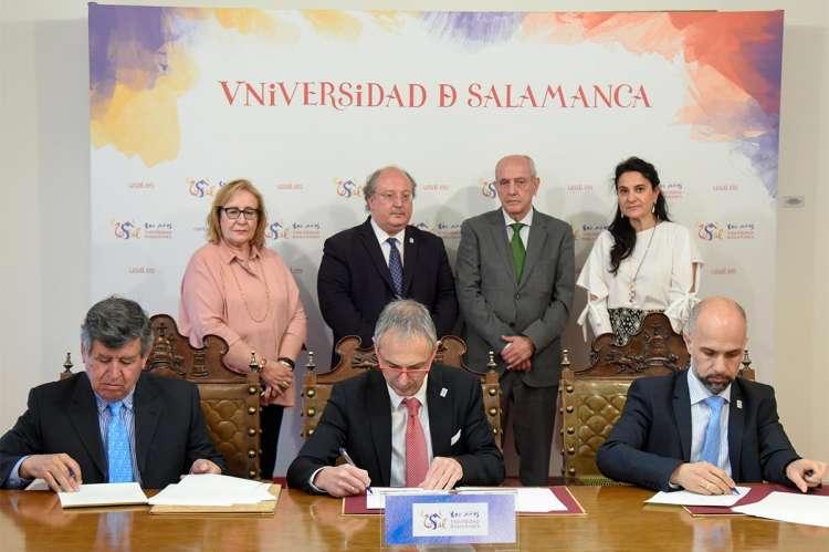 Alejo Riñones, Ricardo Rivero, Javier González Peña, Pilar Jiménez Tello, Enrique Cabero, Pedro Díaz y Mili Pizarro.