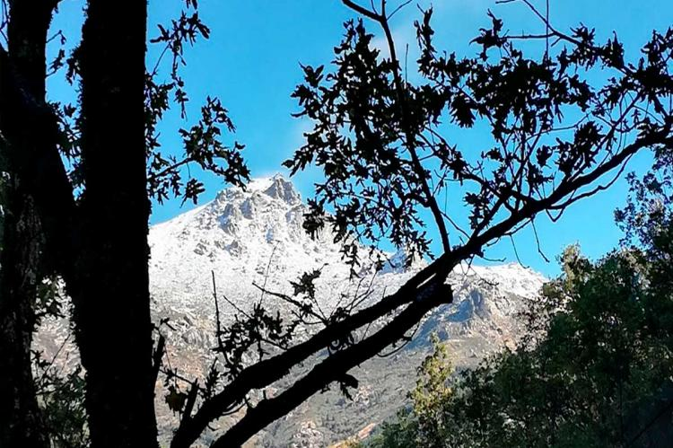 Paisaje otoñal Valle del Ambroz