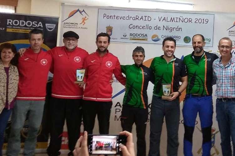 Equipo de Lo Vettones a la derecha de la imagen. A la izquierda el equipo ganador