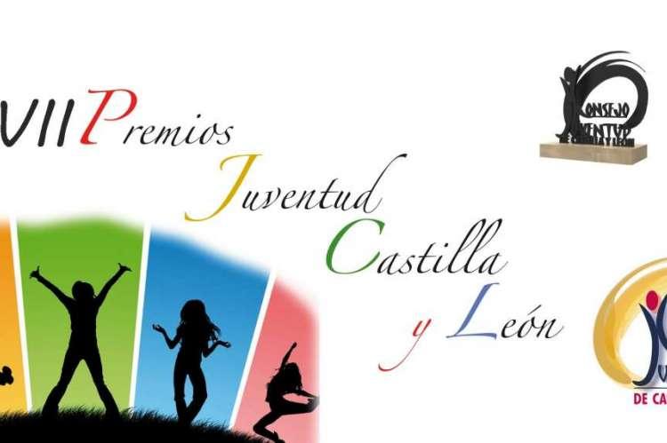 Cartel de los VII Premios a la Juventud de Castilla y León