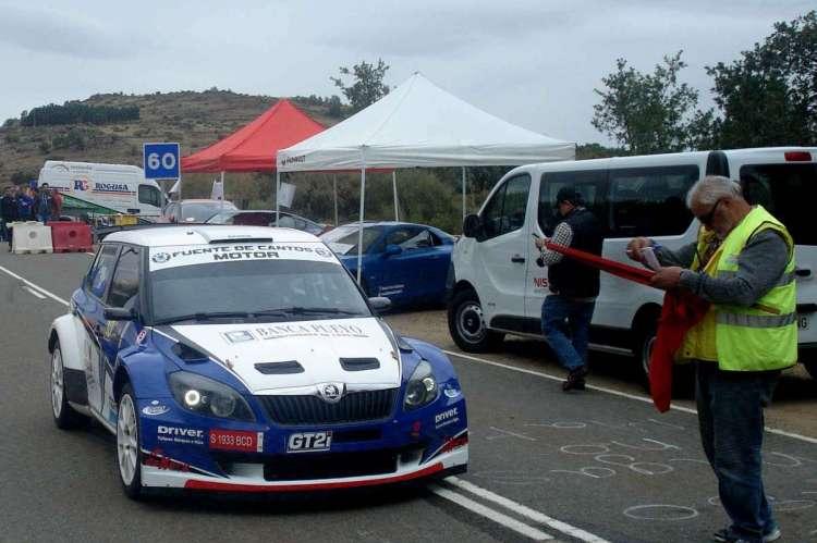 Vehiculo participante en Subida Charra. Archivo