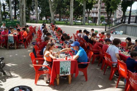 Participantes en el I Torneo de Ajedrez Ciudad de Béjar