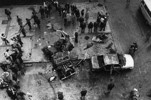 Imágenes del atentado en 1986 mapadelterror.com
